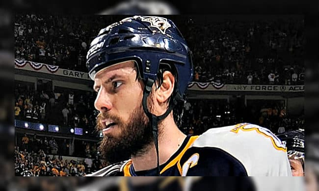 shea weber playoff beard