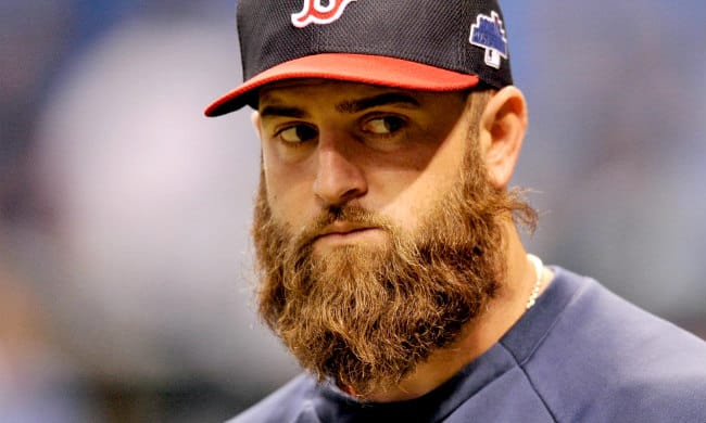 mike napoli baseball beard in mlb