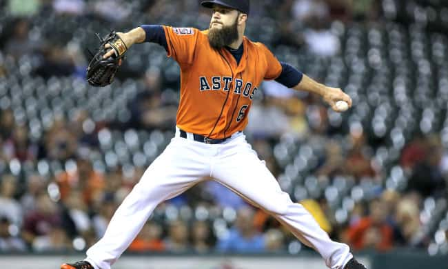 why do baseball players have a beard dallas keuchel