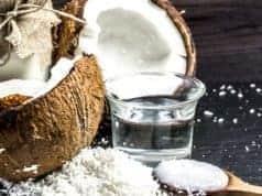 Coconut oil for beard growth and as facial hair oil