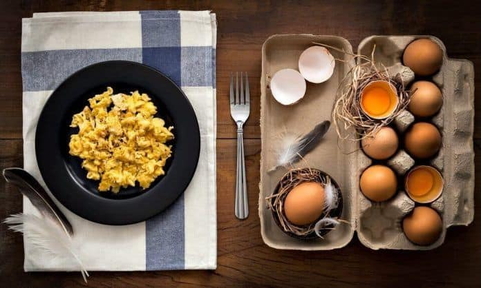 eggs and omelette