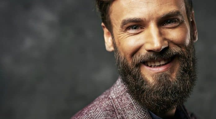 man with really thick beard
