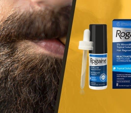 rogaine for facial hair growth
