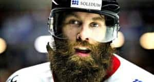 why do hockey players have beards during playoffs