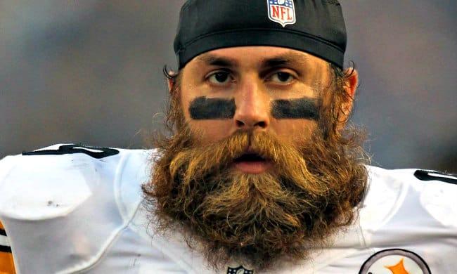 brett keisel beard in nfl