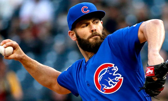 Jake Arrieta beard