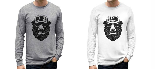 beard clothing gift idea
