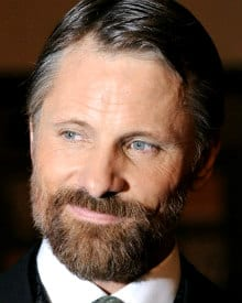 Viggo Mortensen with a stylish full beard
