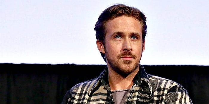 Ryan Gosling and his patchy facial hair