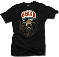 beard bear t shirt