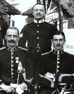british officers in india