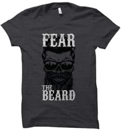 fear the beard grey shirt