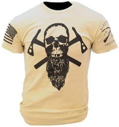 grunt-style fear the beard t-shirt