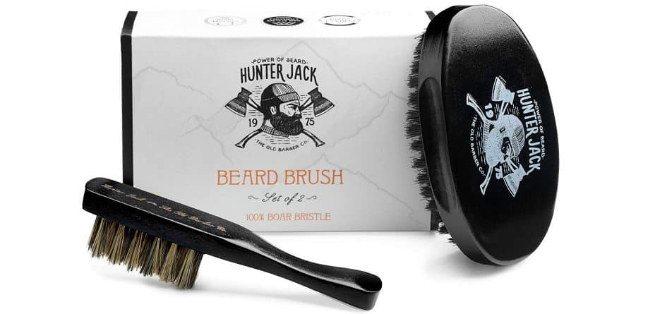 hunter jack brush kit for facial hair care and grooming