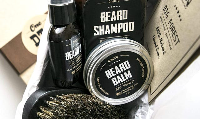big forest beard butter and other facial hair products