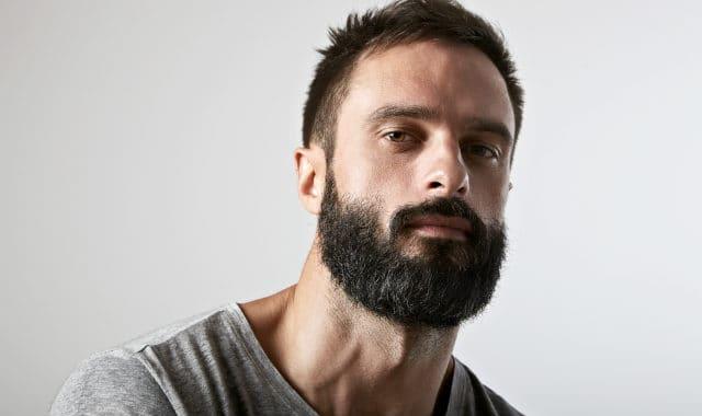 garibaldi style dark beard