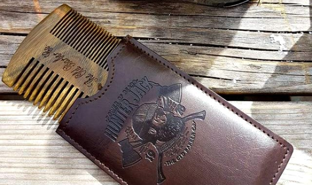 hunter jack comb and pouch