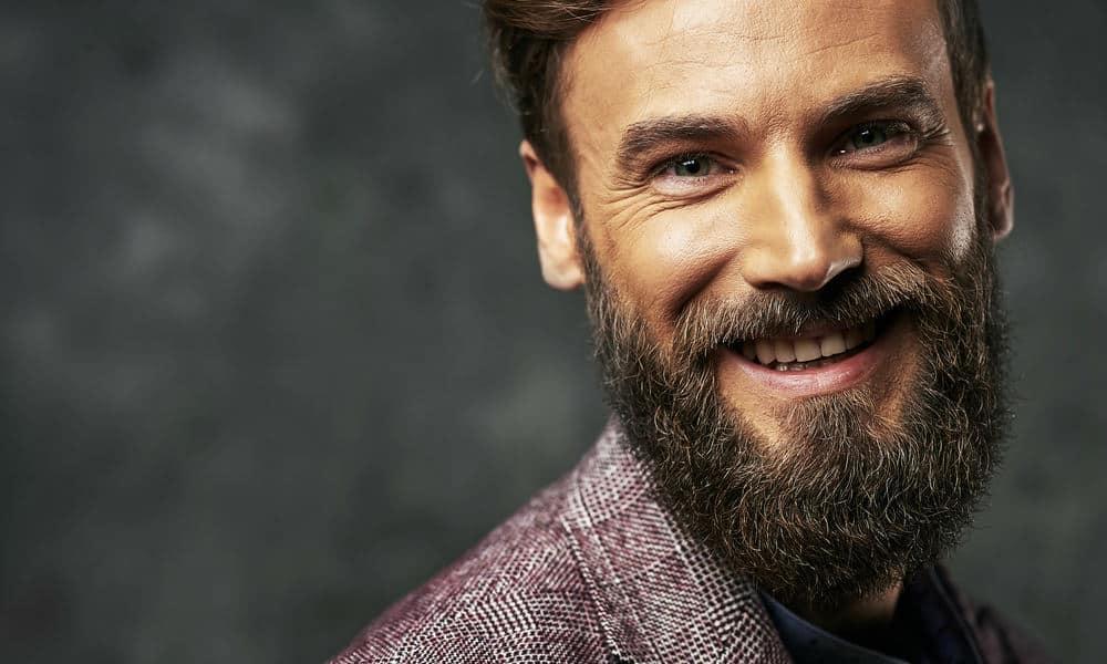 light brown beard