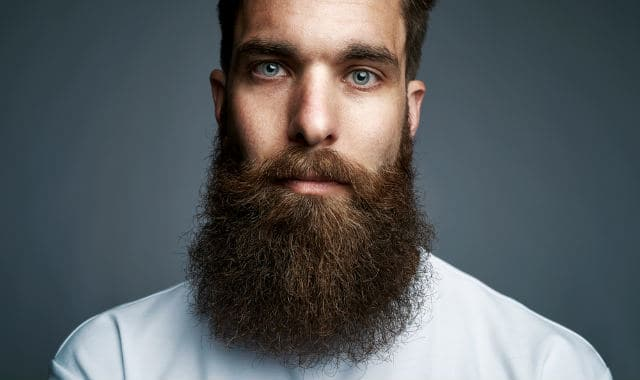 the natural full beard style