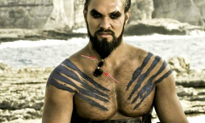 jason momoa with two beard beads