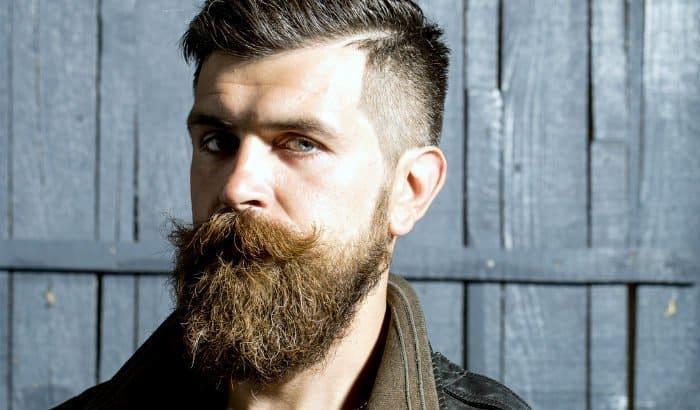 man with a bushy beard