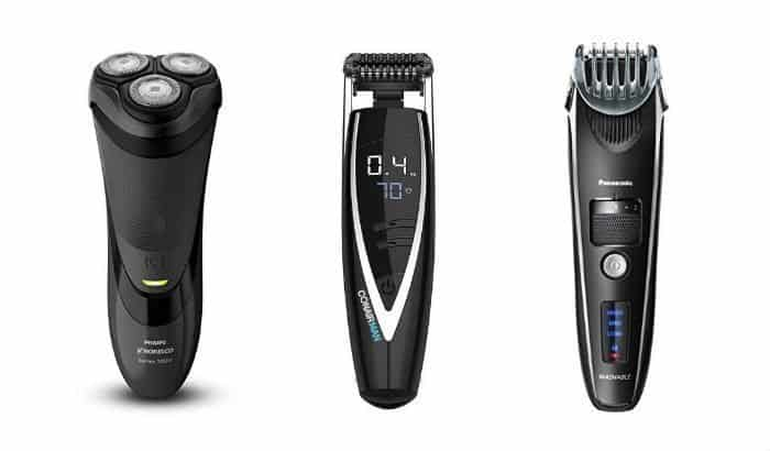 electric shaver vs stubble trimmer vs beard trimmer