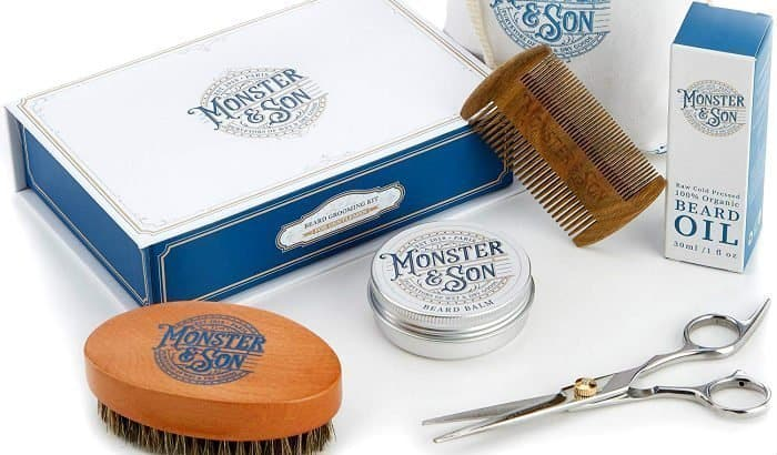 monster and son beard care starter kit