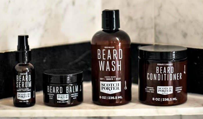 scotch porter beard conditioning kit