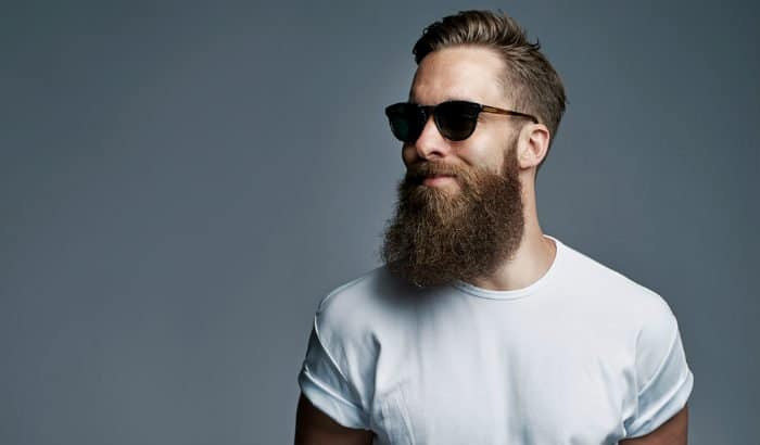 man with beard and sunglasses