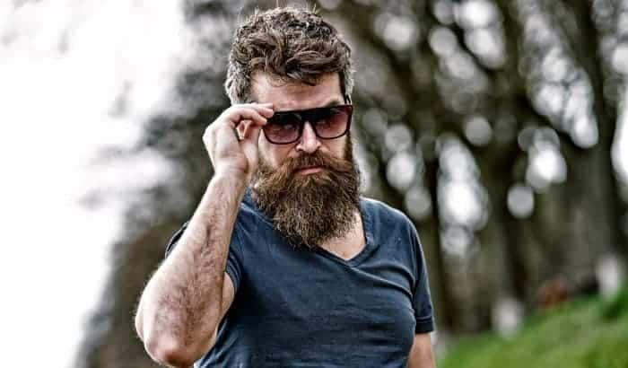 bearded man sunglasses
