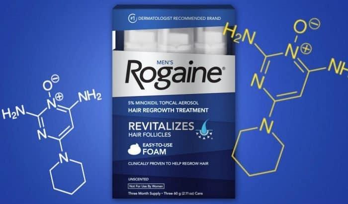 minoxidil foam serum for beard growth