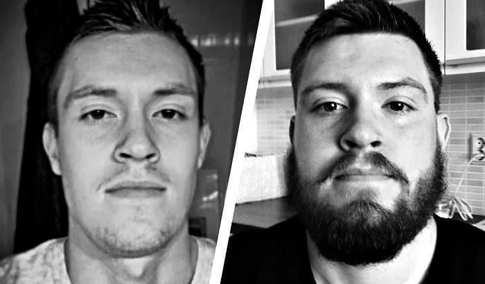 my beard 2014 vs 2018