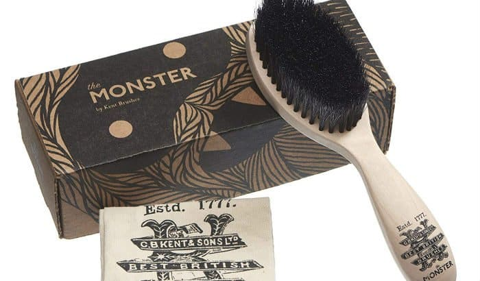 the monster soft horsehair beard brush