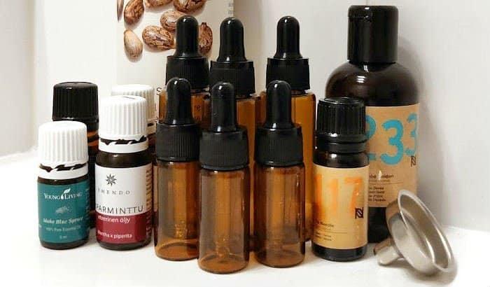 tools needed to make beard oil