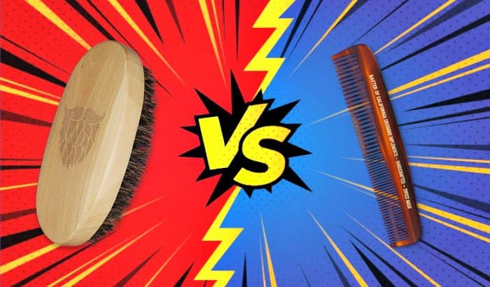 beard brush beard comb comparison