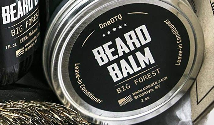 big forest beard balm tin