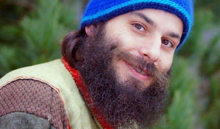 curly bushy beard