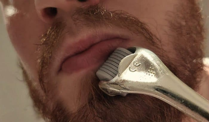 stimulating beard growth