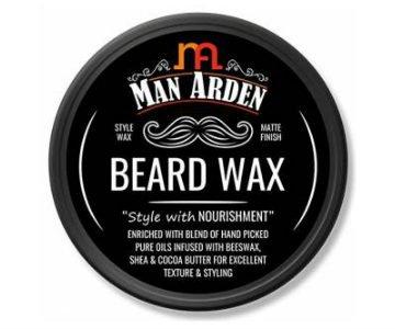 man arden matte beard wax
