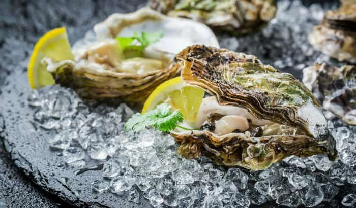 oysters are a rich source of minerals