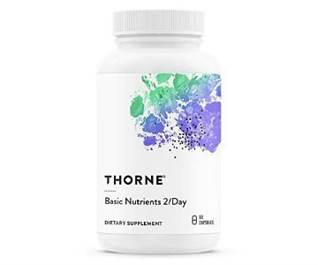 thorne basic nutrients multivitamin