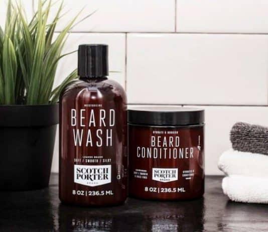 beard conditioner washing