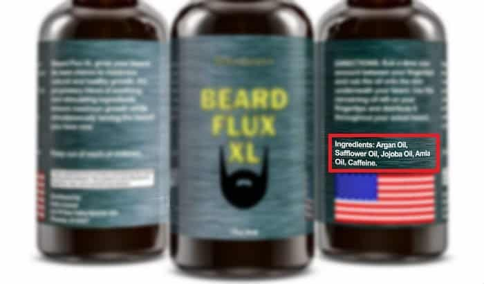 beard growth oil ingredients