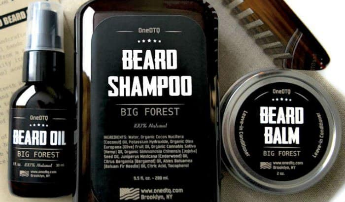 big forest beard shampoo and other products