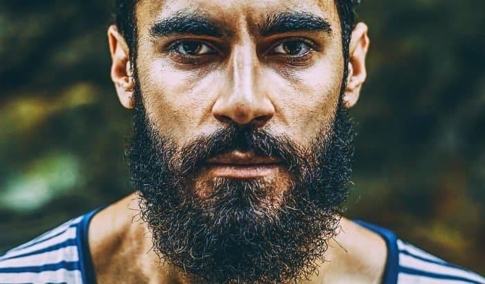 curly frizzy beard