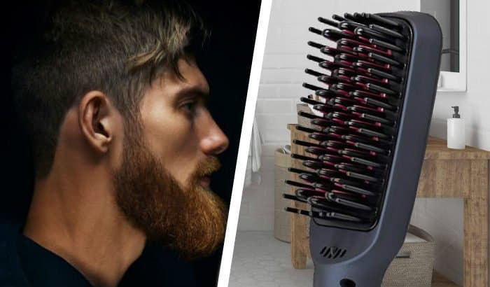 heated beard brush