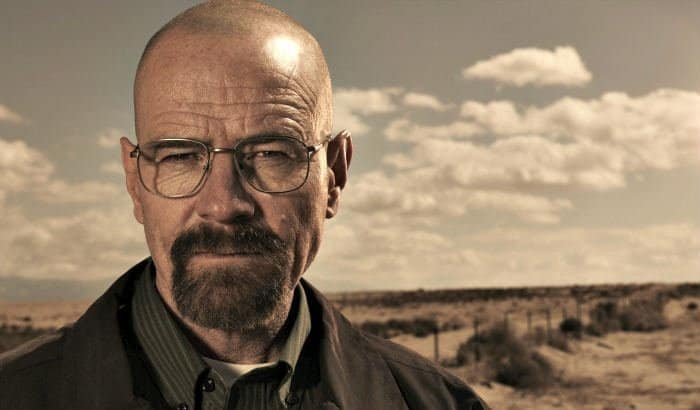 heisenberg bald head goatee