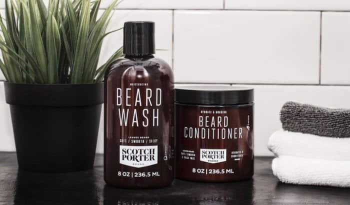 scotch porter beard wash and conditioner