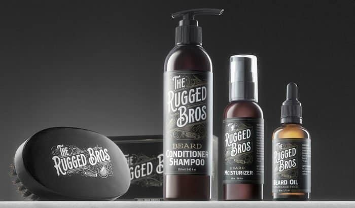 the rugged bros conditioning beard shampoo