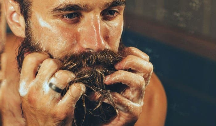using beard relaxer